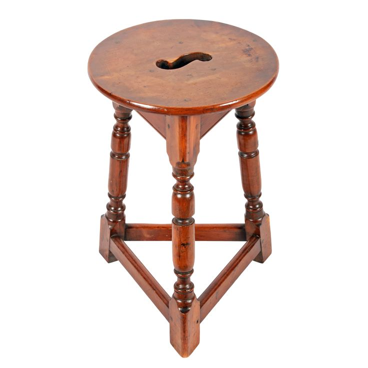 Arts & Crafts Yew Occasional Table