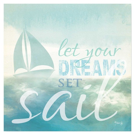 dreams sail wall art at joss main decorate pinterest. Black Bedroom Furniture Sets. Home Design Ideas