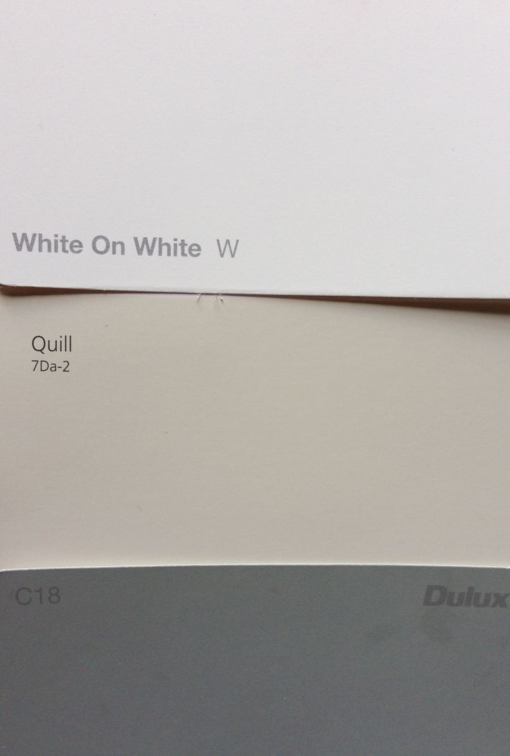 Taubman's Quill exterior walls Dulux White on White trim Colorbond Windspray roof