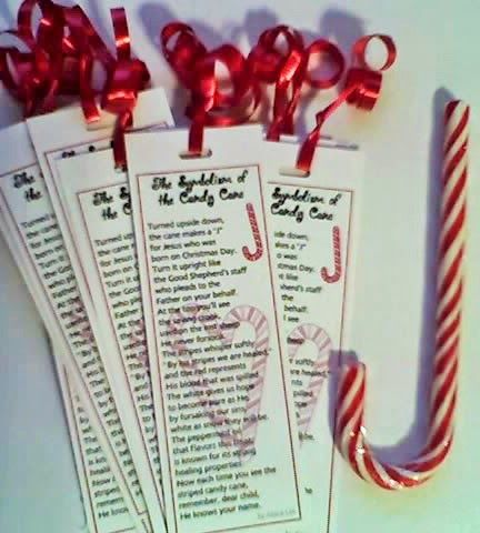 Here is info about how to make the Candy Cane poems  in into festive bookmarks. They are great for punching a hole, tying some ribbon, and ...