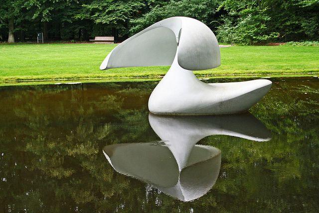 """Kroller Muller Sculpture Park - Sculpture Flottante """"Otterlo"""" - Marta Pan by andrewstevenson, via Flickr"""