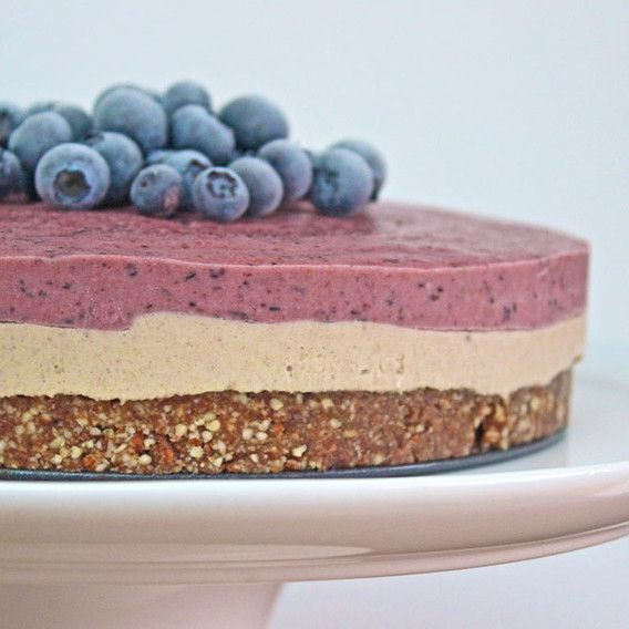 Raw Blueberry Cheesecake -http://begoodorganics.com/blogs/begoodness/9553119-raw-blueberry-cheesecake