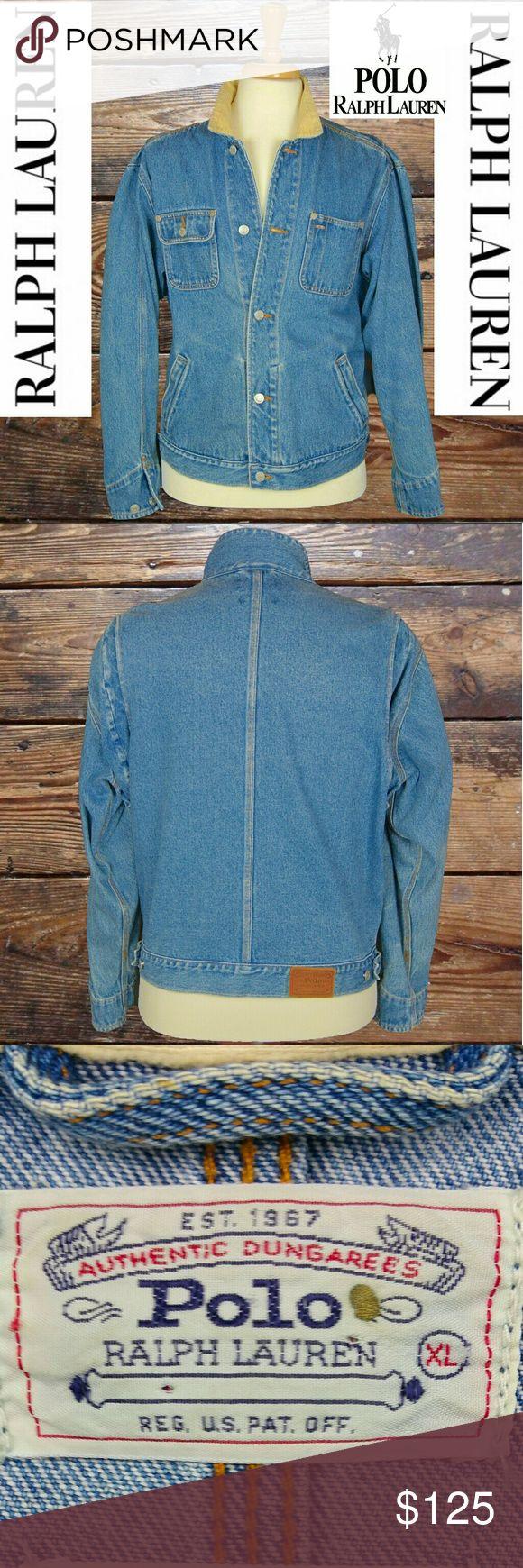 Ralph Lauren men's denim jacket Ralph Lauren -  excellent condition denim jacket.  WE DRY CLEAN AND WRAP EVERY ITEM! Polo By Ralph Lauren Jackets & Coats
