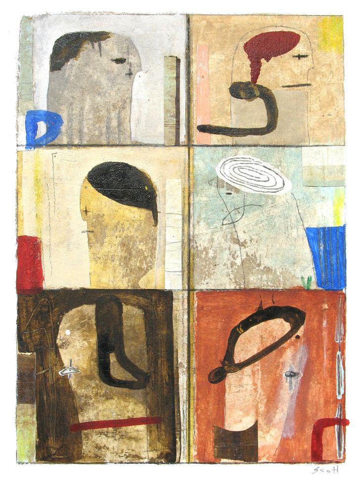 12 x 9 , mixed media on paper. September 2015. Buy my art on Etsy!