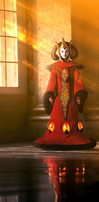 Queen Amidala.  Maybe I will draw this for the fine arts festival this year. . .
