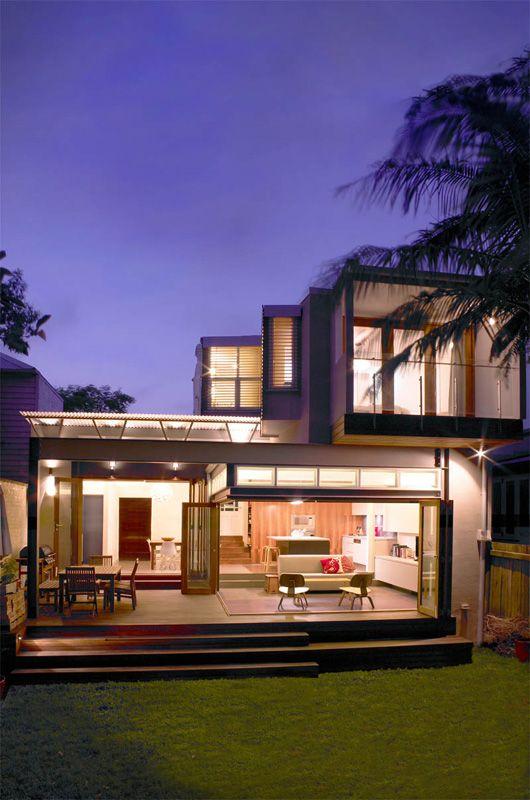 Sustainable architecture award for Rozelle terrace house   Designhunter - Australia's best architecture & design blog