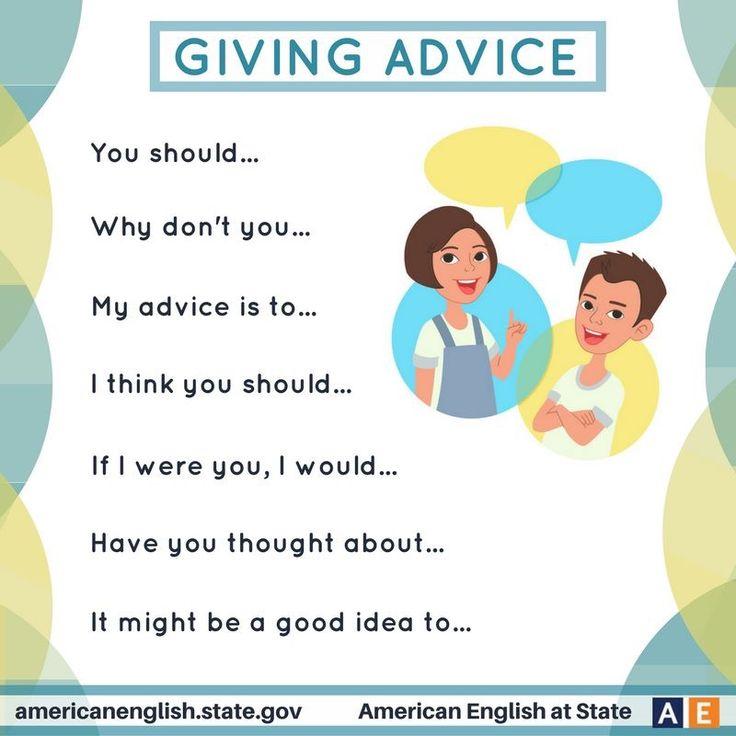 Dare consigli
