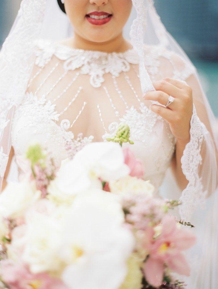 Featured photographer: Kristin La Voie Photography; wedding dress idea