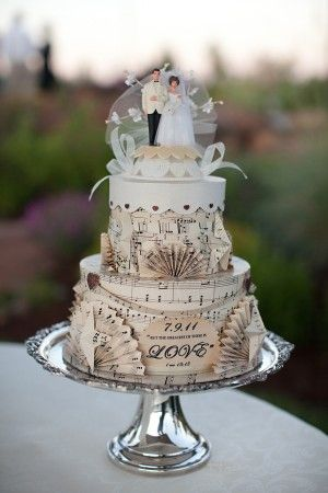 original wedding cake frosting 17 best images about decoration mariage theme musique on 18062