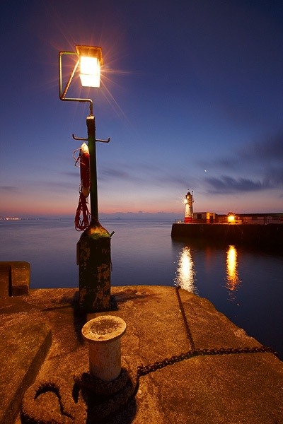 Harbour lights in Newlyn, Cornwall #travel #uk