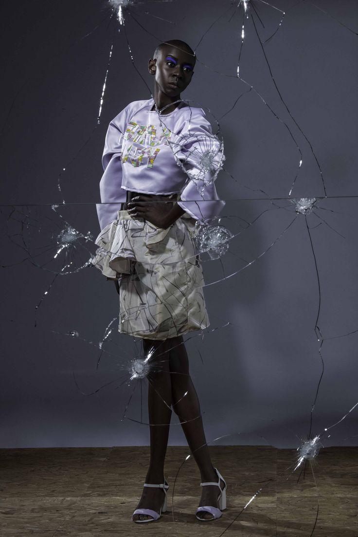 Designer Yasmin Nasser, Fashion Design BA (Hons) 2016
