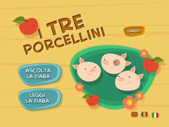 I Tre Porcellini per iPad