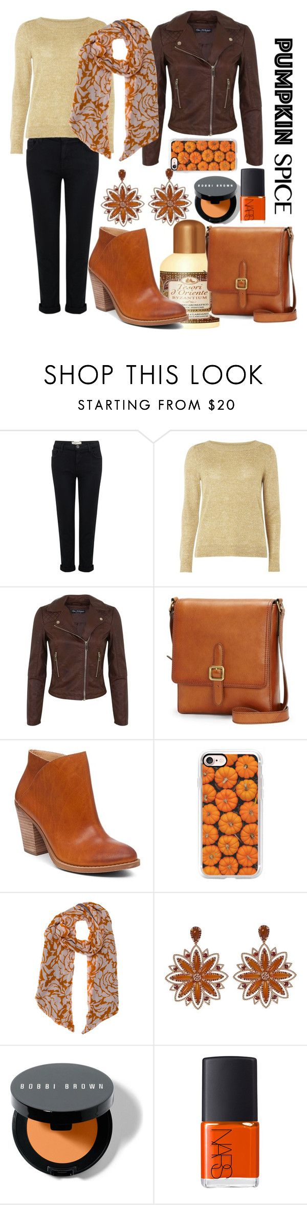 """Untitled #747"" by confusioninme ❤ liked on Polyvore featuring Current/Elliott, mel, Miss Selfridge, Frye, Lucky Brand, Casetify, Yigal AzrouÃ«l, Carla Amorim, Bobbi Brown Cosmetics and NARS Cosmetics"