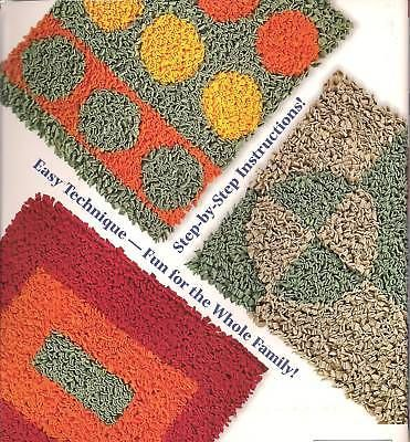 Hooked On A Look: Latch Hook Rug Patterns, Make Rugs W/ Fleece