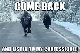 Image result for confession bear meme