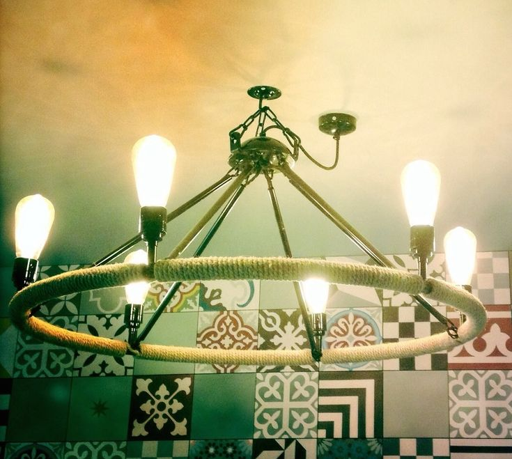 Nordic Chandelier Hand Made by Gravel Hill