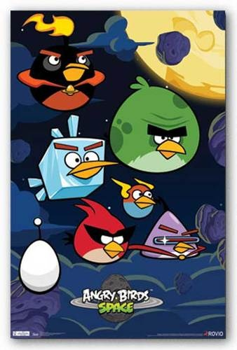angry birds space game instructions