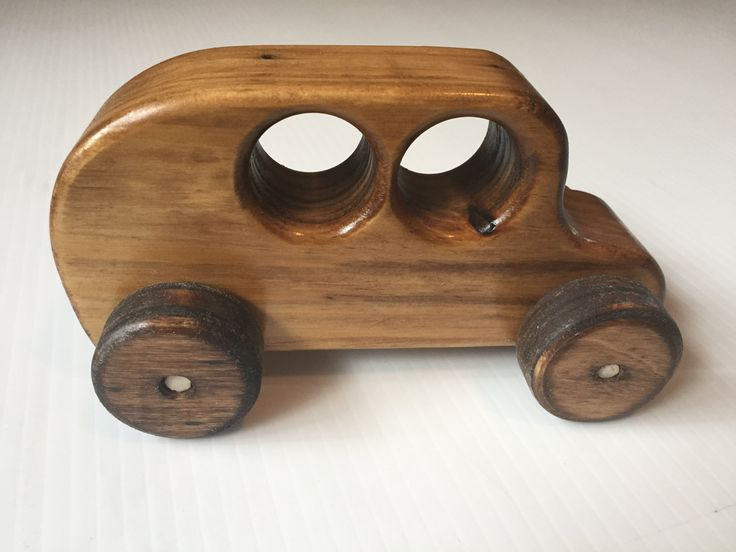 Wooden Toy Van - wooden toy car, wooden toy, toy car, wooden van, push toy, toys for boys, gifts for toddlers, boy, handmade, gift by blairwoodprints on Etsy