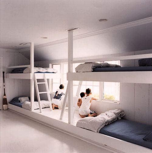 Kids room bunk beds