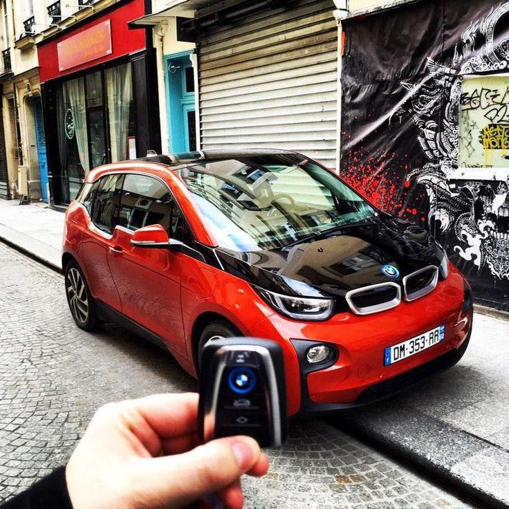 Louez-moi, le courant passera forcément entre nous! #BMW #i3 #Paris disponible à la location sur: http://www.sixt.fr/?utm_source=pinterest&utm_medium=smo&utm_campaign=board_nos_voitures
