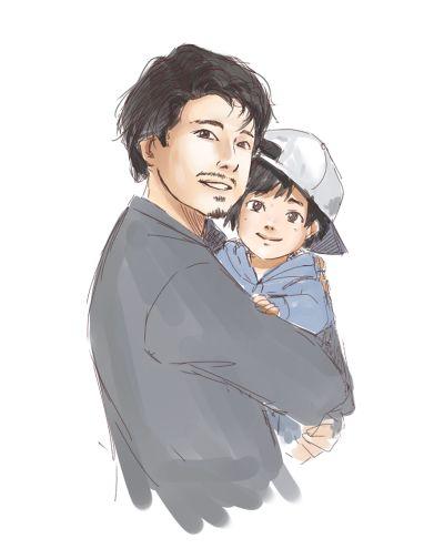 Glenn and Hershel Jr :)