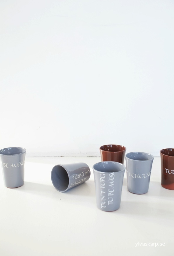 Mugs Ylva Skarp.  Photographer Annaleena Leino.
