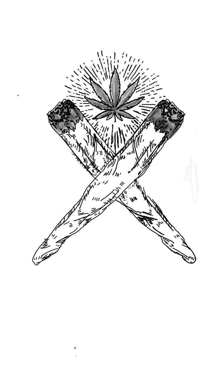 Pingl par thomas dumauli sur higher en 2019 feuille de cannabis dessin cannabis et feuille - Coloriage feuille de cannabis ...