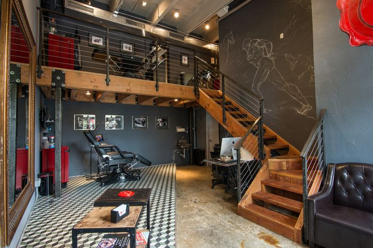 Tattoo Studio in the Heart of Miami. Interior Design Business