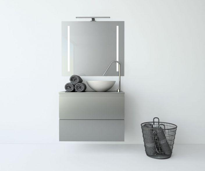 Muebles de baño, propuestas de composiciones para conseguir amplitud en el almacenaje: cajones, puertas correderas, abatibles, huecos vistos, etc. unibaño-compactos-almacenaje-13