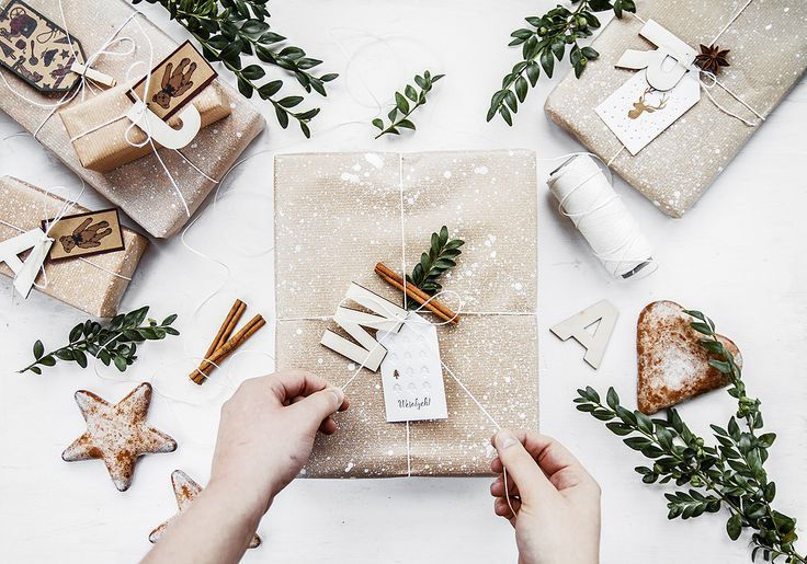 Christmas gift packaging idea