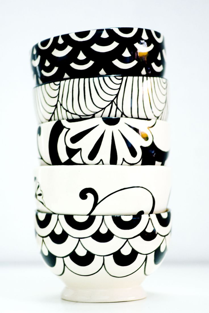 Bowls de ceràmica pintado a mano https://www.facebook.com/imperfecto.arte