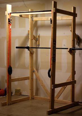 Power rack selber bauen  Die besten 25+ Diy power rack Ideen auf Pinterest | Power-Rack ...