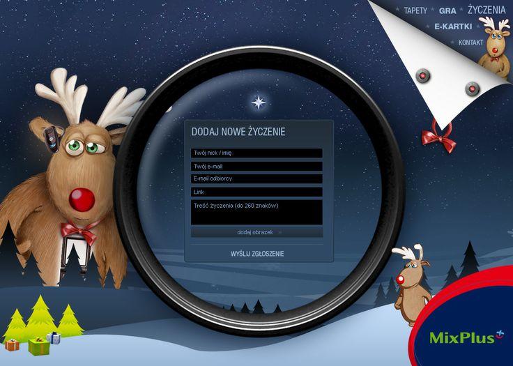 Serwis świąteczny - apliakcja do personalizowania interaktywnych kartek świątecznych