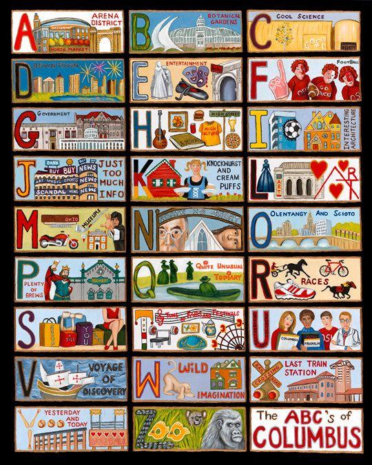 The ABCs of Columbus, Ohio