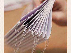 Быстрый переплет с помощью швейной машинки! | Ярмарка Мастеров - ручная работа, handmade