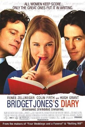 Bridget Jones' s Diary on a rainy day snuggled in bed with some popcorn= perfect Sunday
