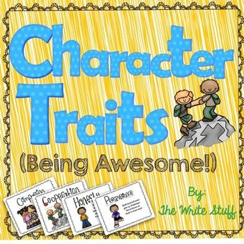 The 25+ best Character traits for kids ideas on Pinterest - positive character traits