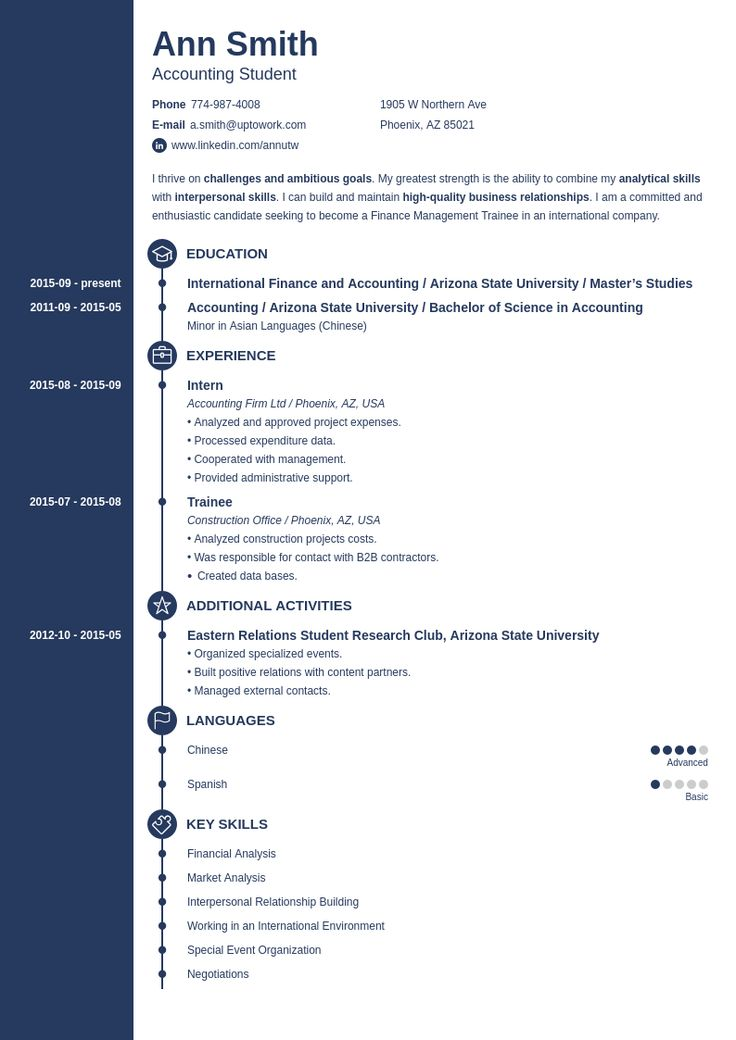 20 professional resume templates create your resume in 5 min