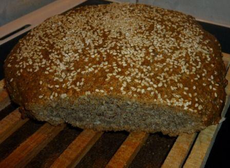 Friss paleo kenyér