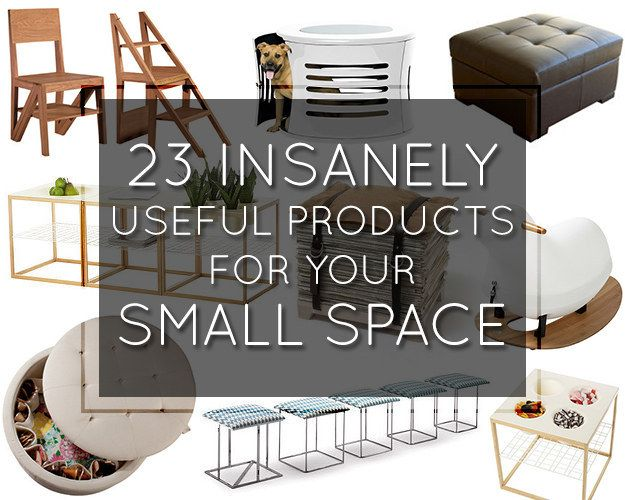 23 Insanely Clever Products For Your Small Space
