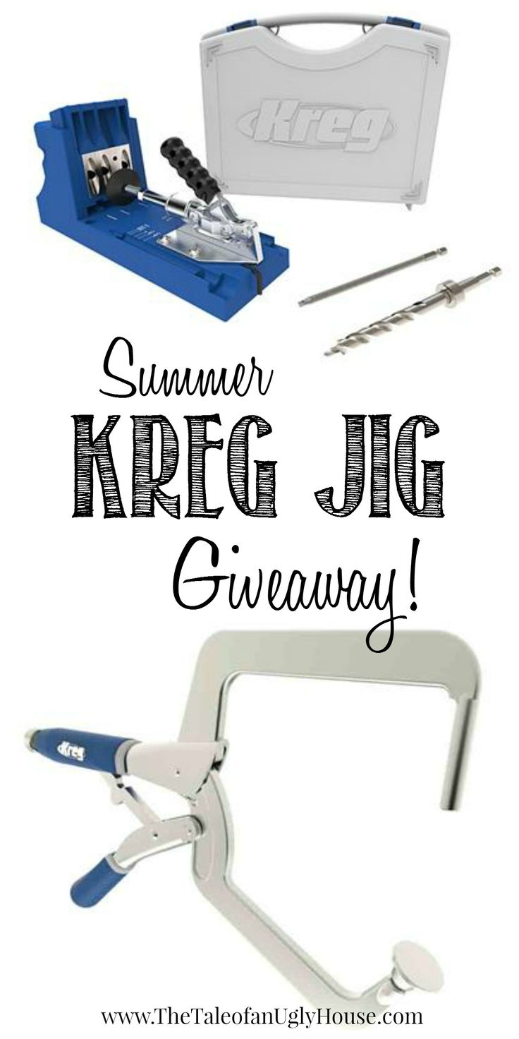 Enter to win a Kreg Jig K4 & Right Angle Clamp through June 10th!