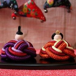 組紐屋さんの雛人形 雅 人形・ぬいぐるみ ハンドメイド・手仕事品の販売・購入 Creema(クリーマ)