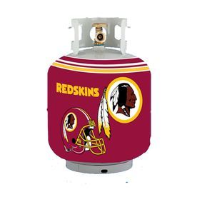 Bottle Skinz 16-In H X 34-In Dia Red Polyester Washington Redskins Propane Tank Cover 900Bswas