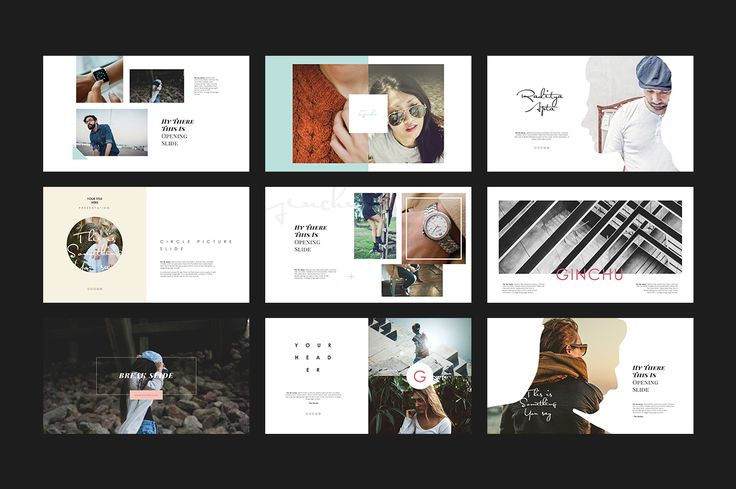 Ginchu PowerPoint Template by Angkalimabelas on @creativemarket