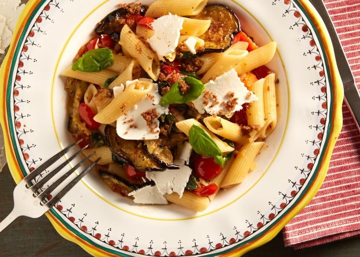 Chef Jody Adams: Spaghetti with alla Norma with Toasted Crumbs