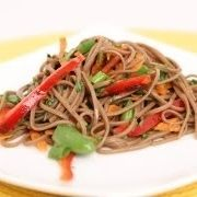 Soba Noodle Salad Recipe - Laura in the Kitchen - Internet Cooking Show Starring Laura Vitale