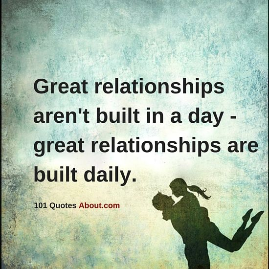 Relationships are the most delicate things, and they require constant and daily effort - Relationships Quotes