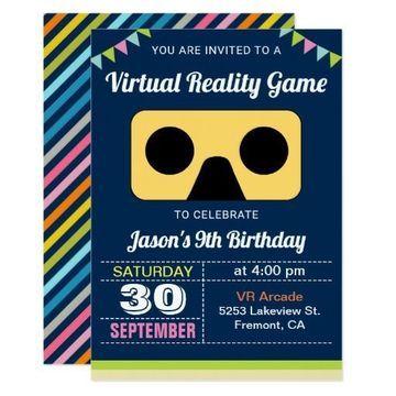 invitaciones virtuales para cumpleaños de niño