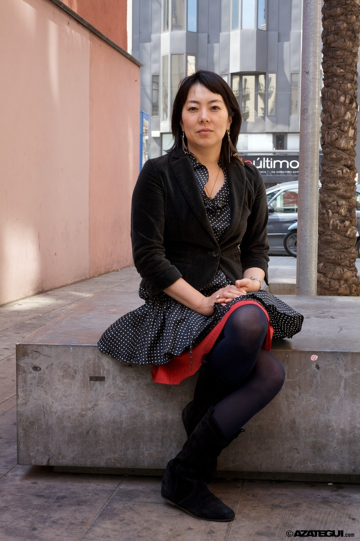 Yuri Nomura during her stay in Barcelona at Hotel Jazz due to the Barcelona Asian Film Festival 2010 - BAFF.