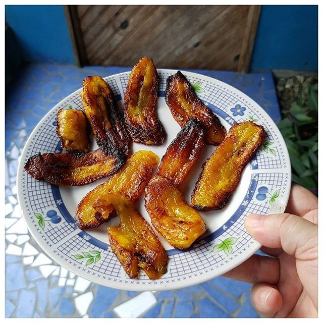 Les bananes plantain c'est trop bon ;)